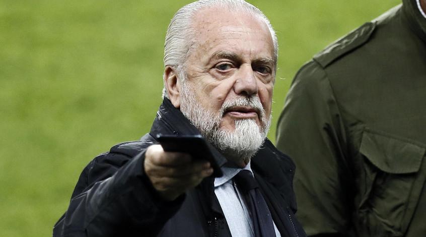 """Президент """"Наполи"""" оштрафует игроков команды за неповиновение"""