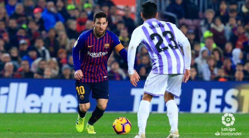 Лионель Месси получил приз лучшего игрока марта в чемпионате Испании