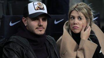 """Икарди с женой посетили матч """"Интер"""" - """"Сампдория"""" (Фото)"""