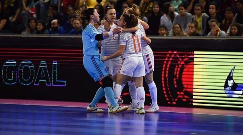 Женская сборная Испании по футзалу разгромила Португалию в финале Евро-2019