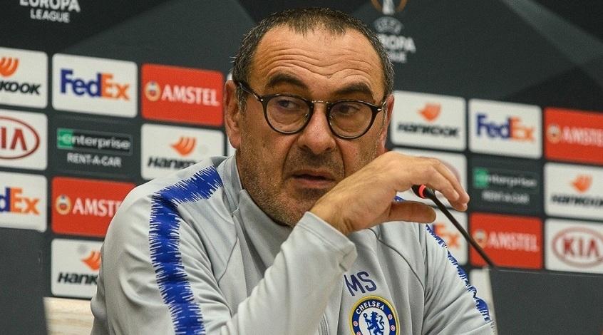 """Маурицио Сарри: """"Не беспокоюсь по поводу трансферного запрета, уверен в своих игроках"""""""