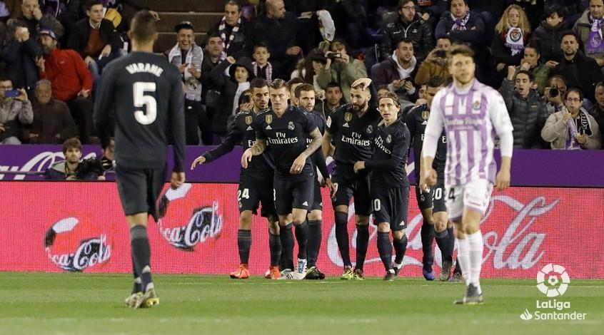 """Чемпионат Испании. 27-й тур. """"Реал"""" крупно побеждает в Вальядолиде"""
