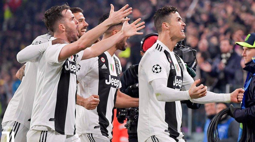 Роналду забил 125-й гол в Лиге чемпионов и обновил рекорд