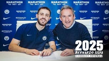 """Официально: Бернарду Силва продлил контракт с """"Манчестер Сити"""""""