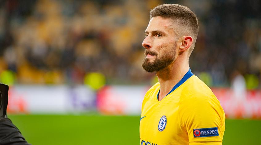Оливье Жиру признан лучшим игроком недели в Лиге Европы