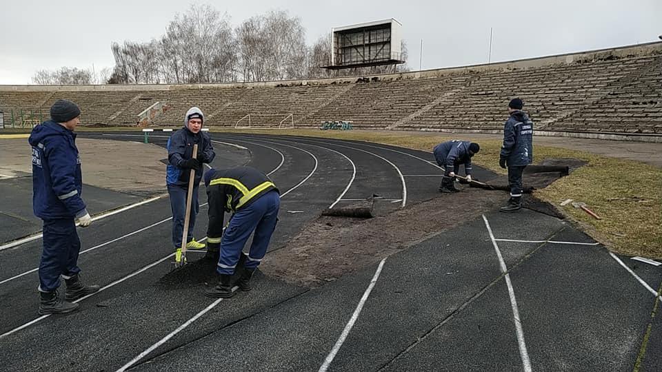 """У Рівному розпочалися роботи з реконструкції стадіону """"Авангард"""" (Фото) - изображение 3"""