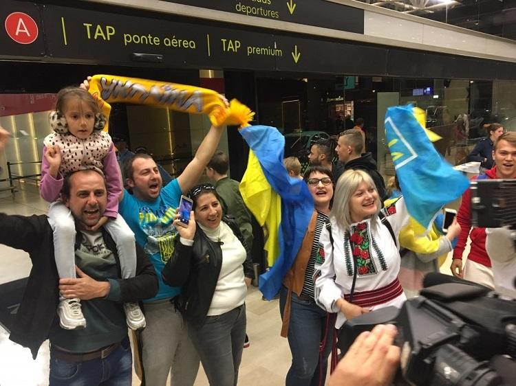 Збірна України прибула до Лісабона - изображение 1