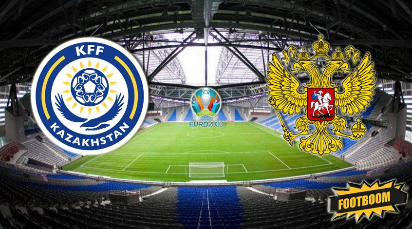 Казахстан – Россия: где смотреть онлайн матч отбора к Евро 24.03.2019