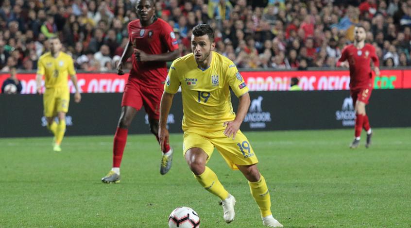 """""""Відчуваю честь бути частиною нашої команди"""", - Мораес про дебют у збірній України"""