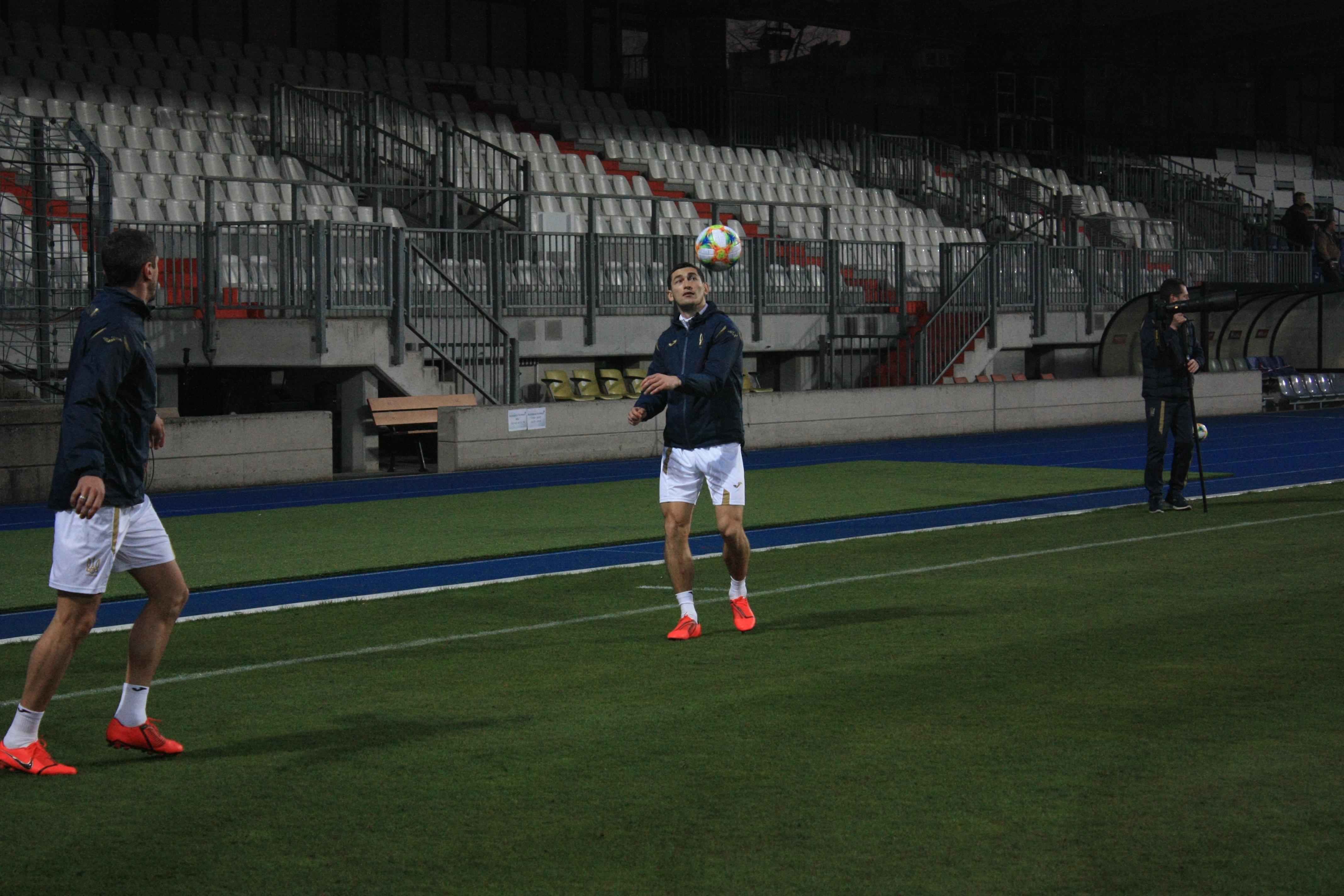 Открытая тренировка сборной Украины в Люксембурге (Фото) - изображение 2
