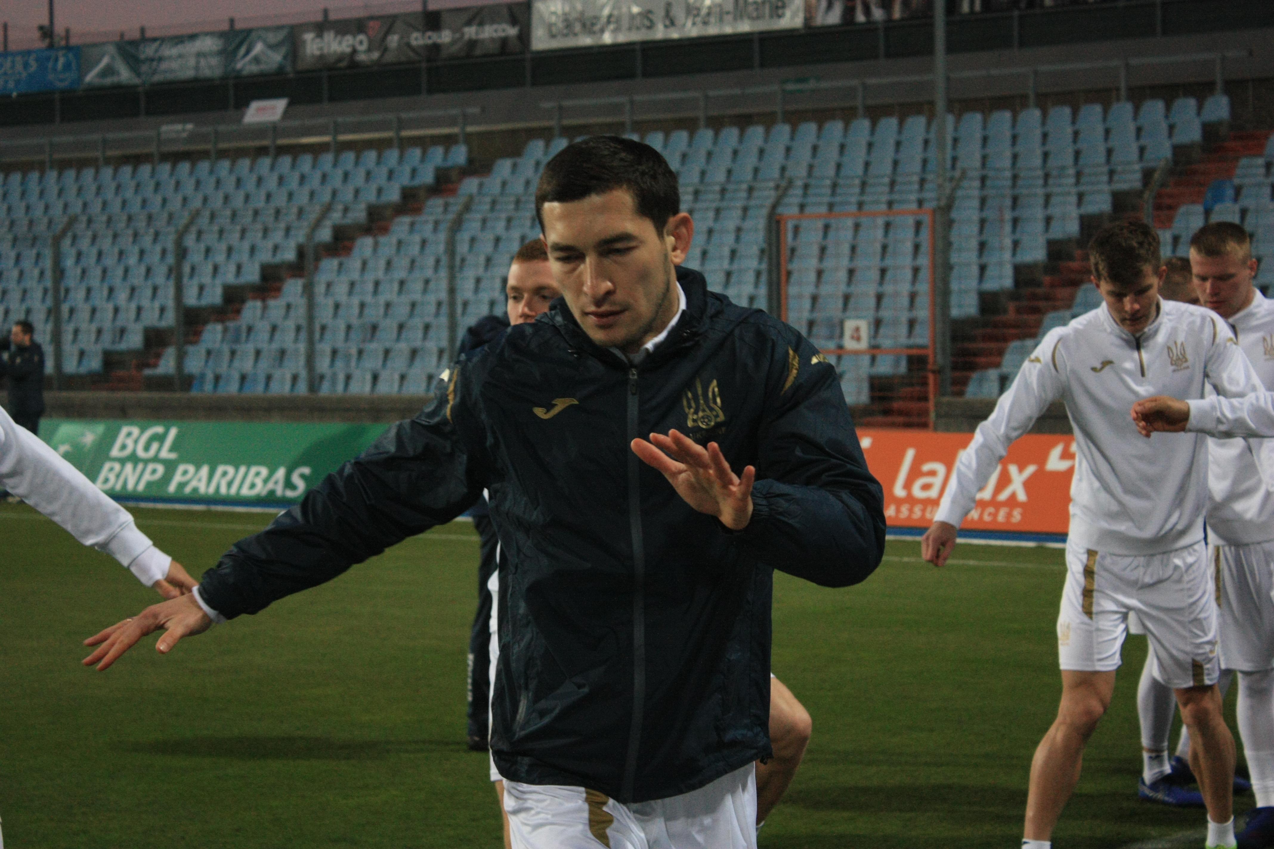 Открытая тренировка сборной Украины в Люксембурге (Фото) - изображение 6