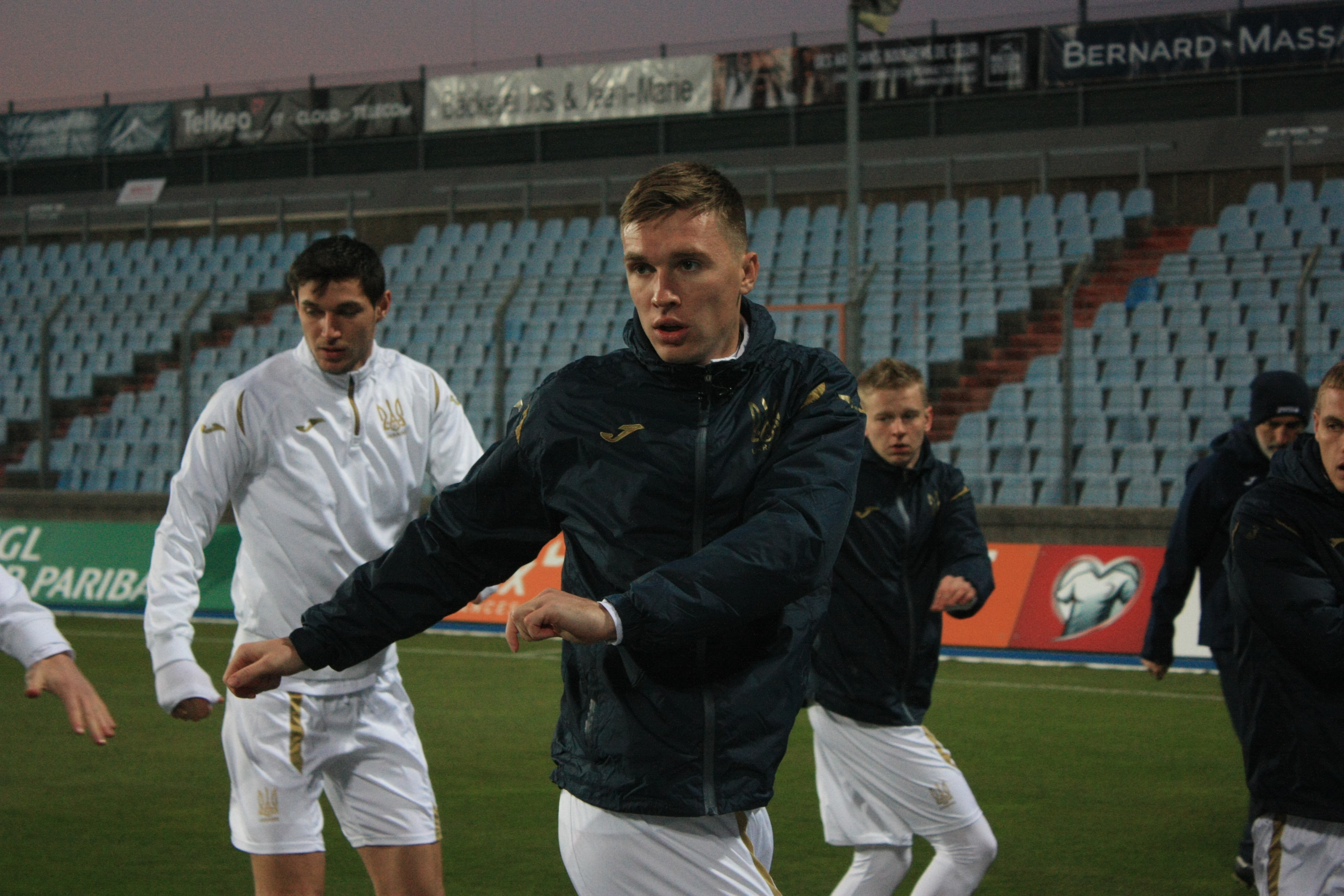 Открытая тренировка сборной Украины в Люксембурге (Фото) - изображение 7