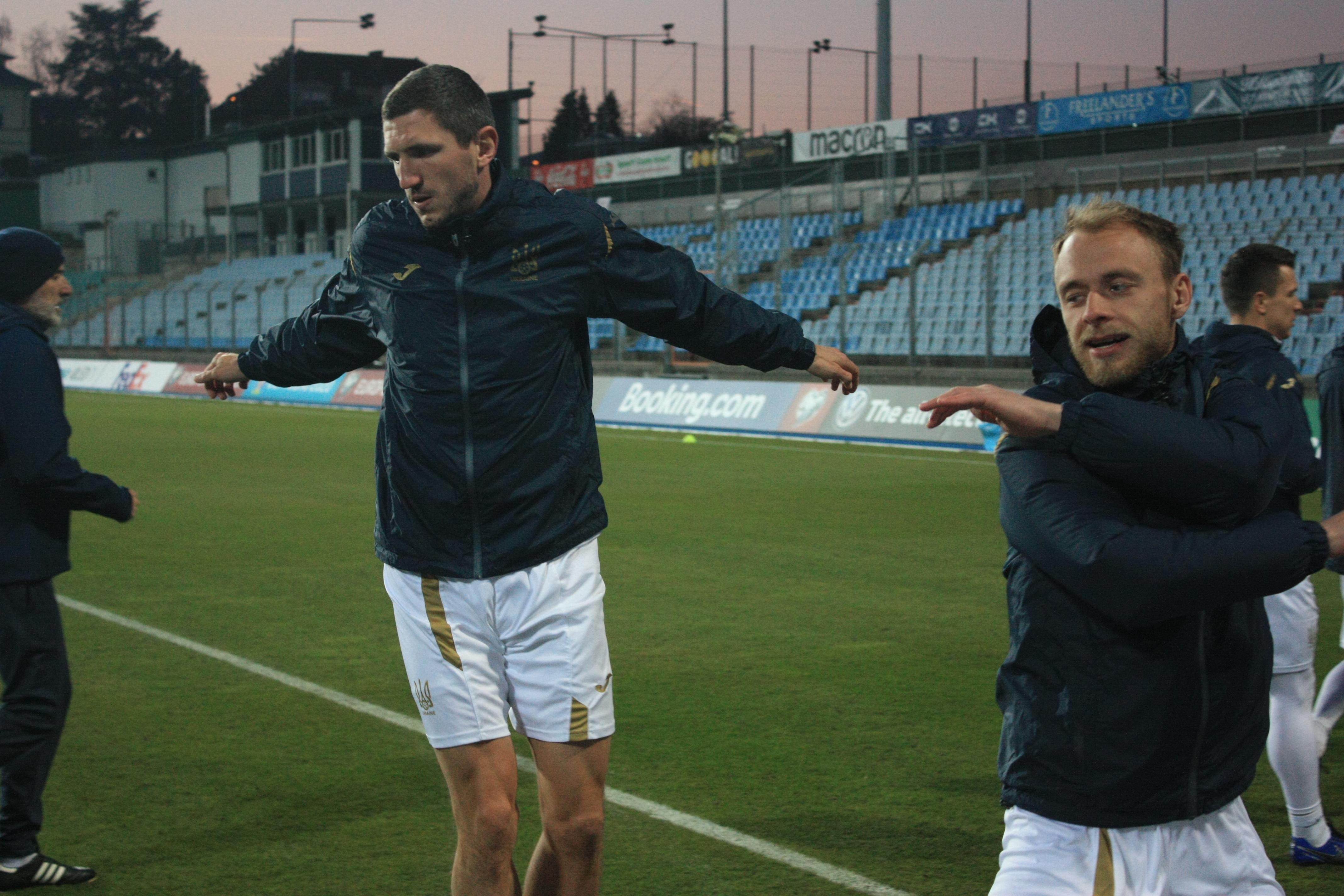 Открытая тренировка сборной Украины в Люксембурге (Фото) - изображение 8
