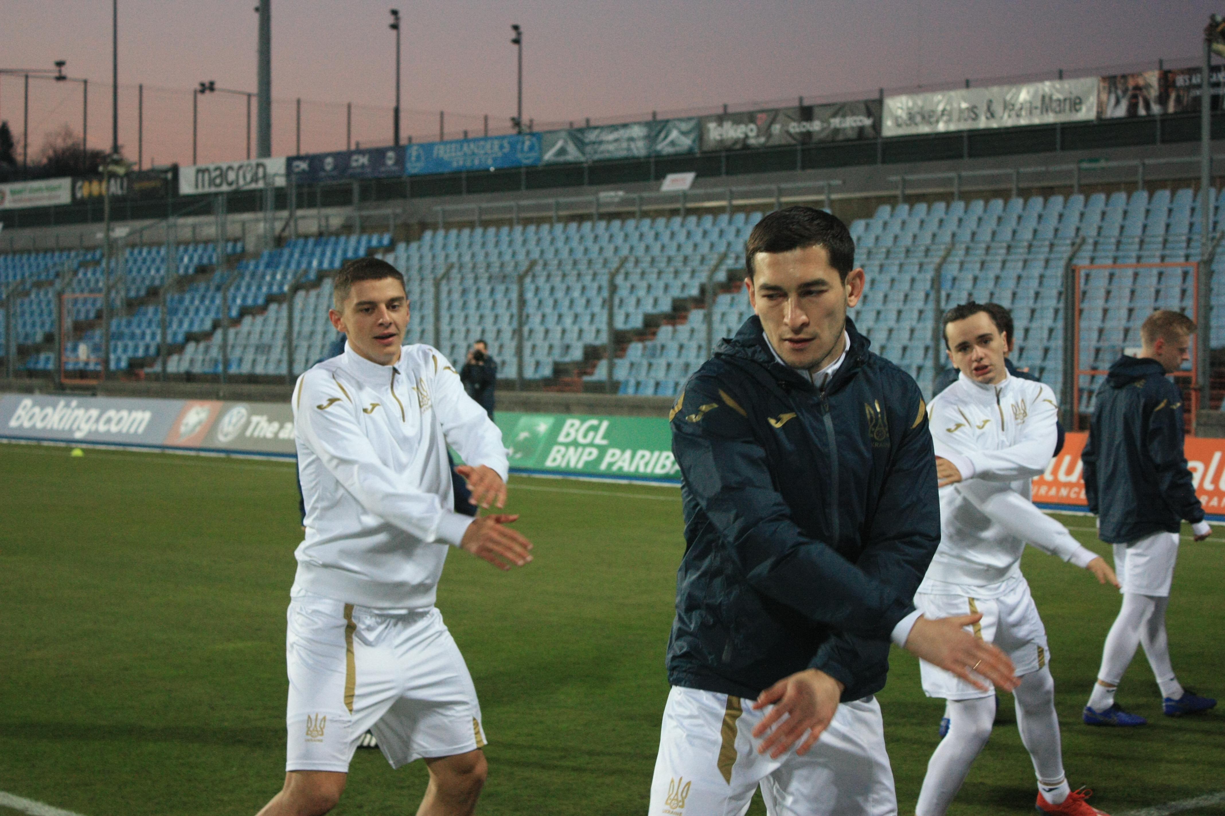 Открытая тренировка сборной Украины в Люксембурге (Фото) - изображение 9
