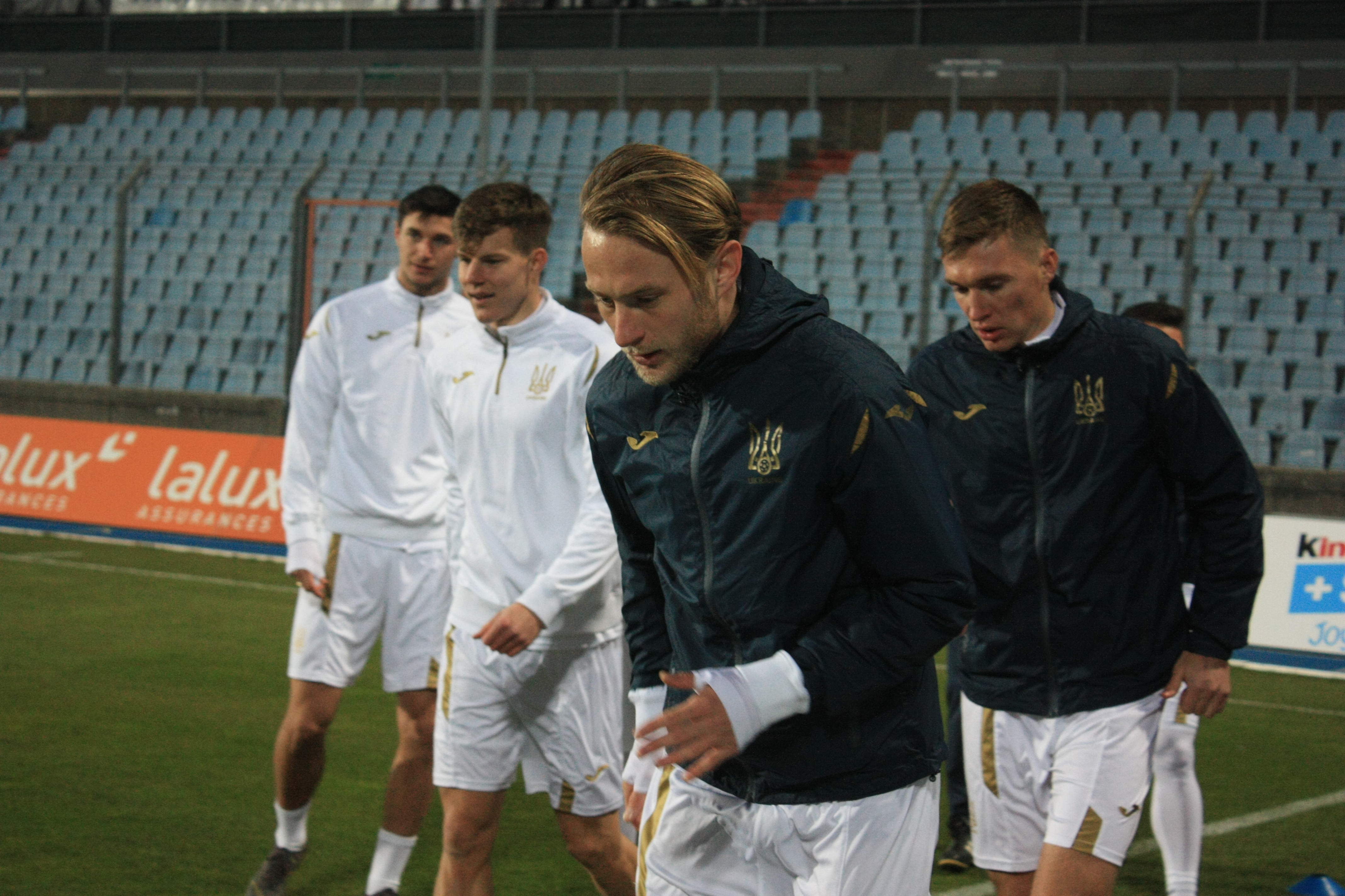 Открытая тренировка сборной Украины в Люксембурге (Фото) - изображение 12