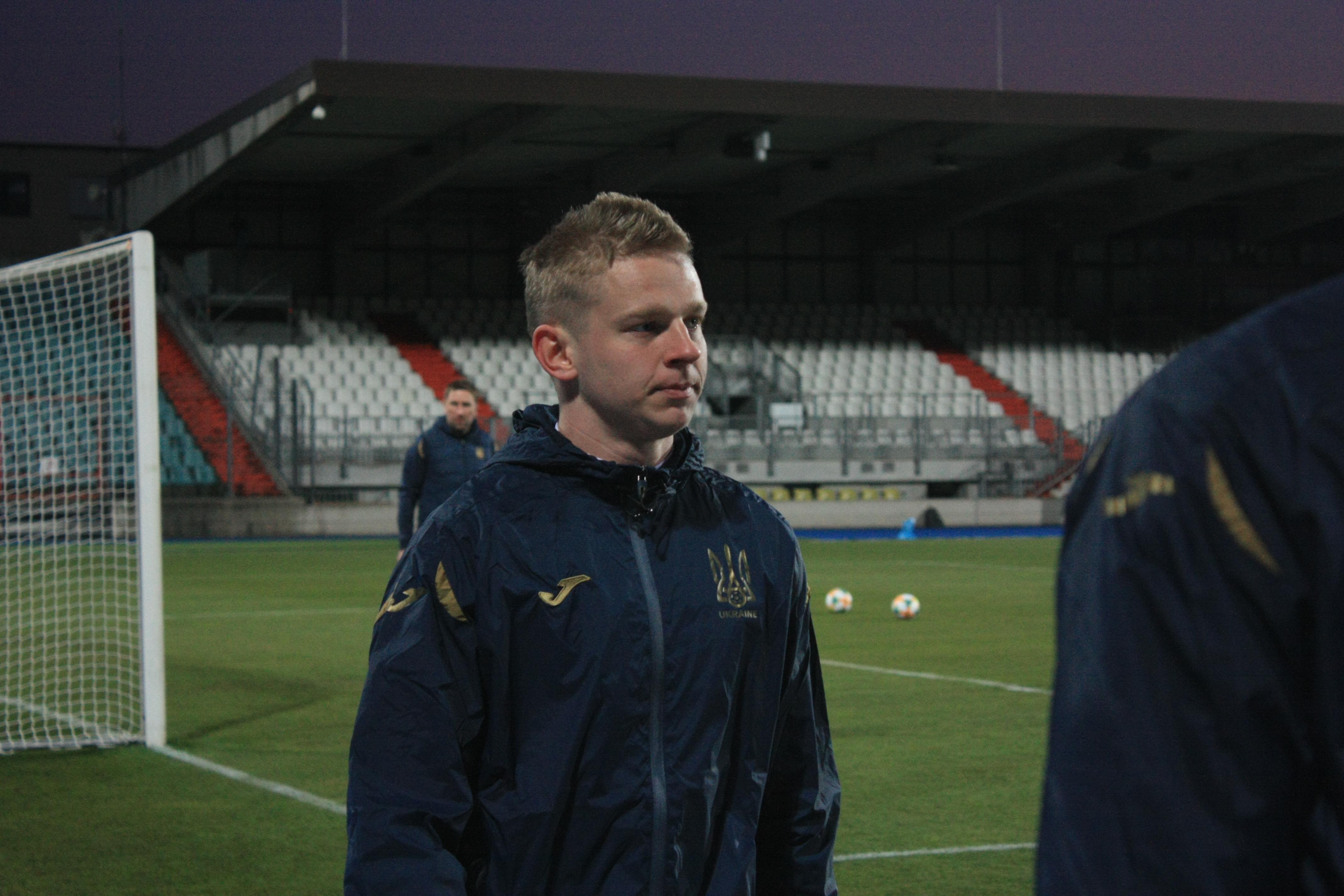 Открытая тренировка сборной Украины в Люксембурге (Фото) - изображение 14