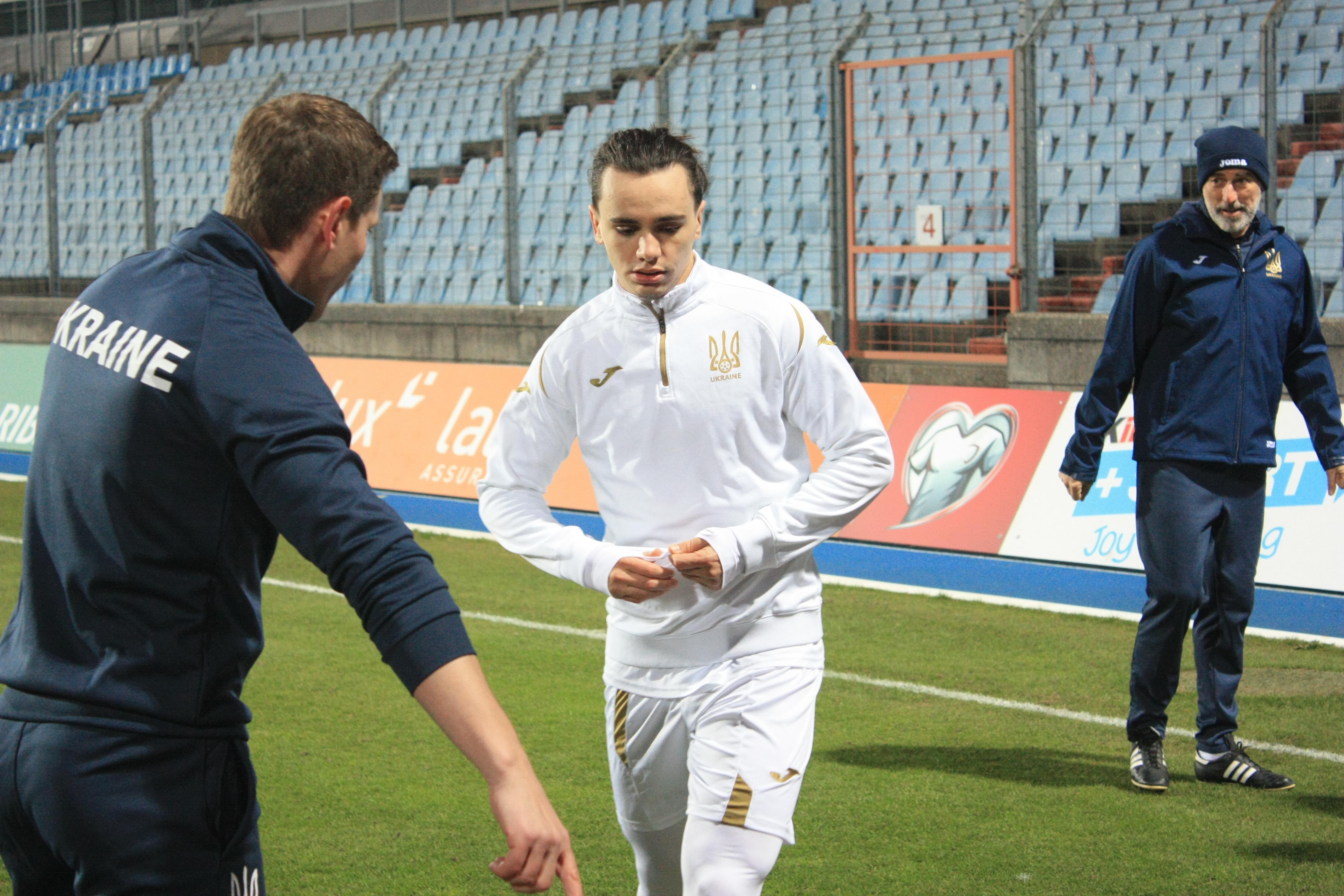 Открытая тренировка сборной Украины в Люксембурге (Фото) - изображение 15