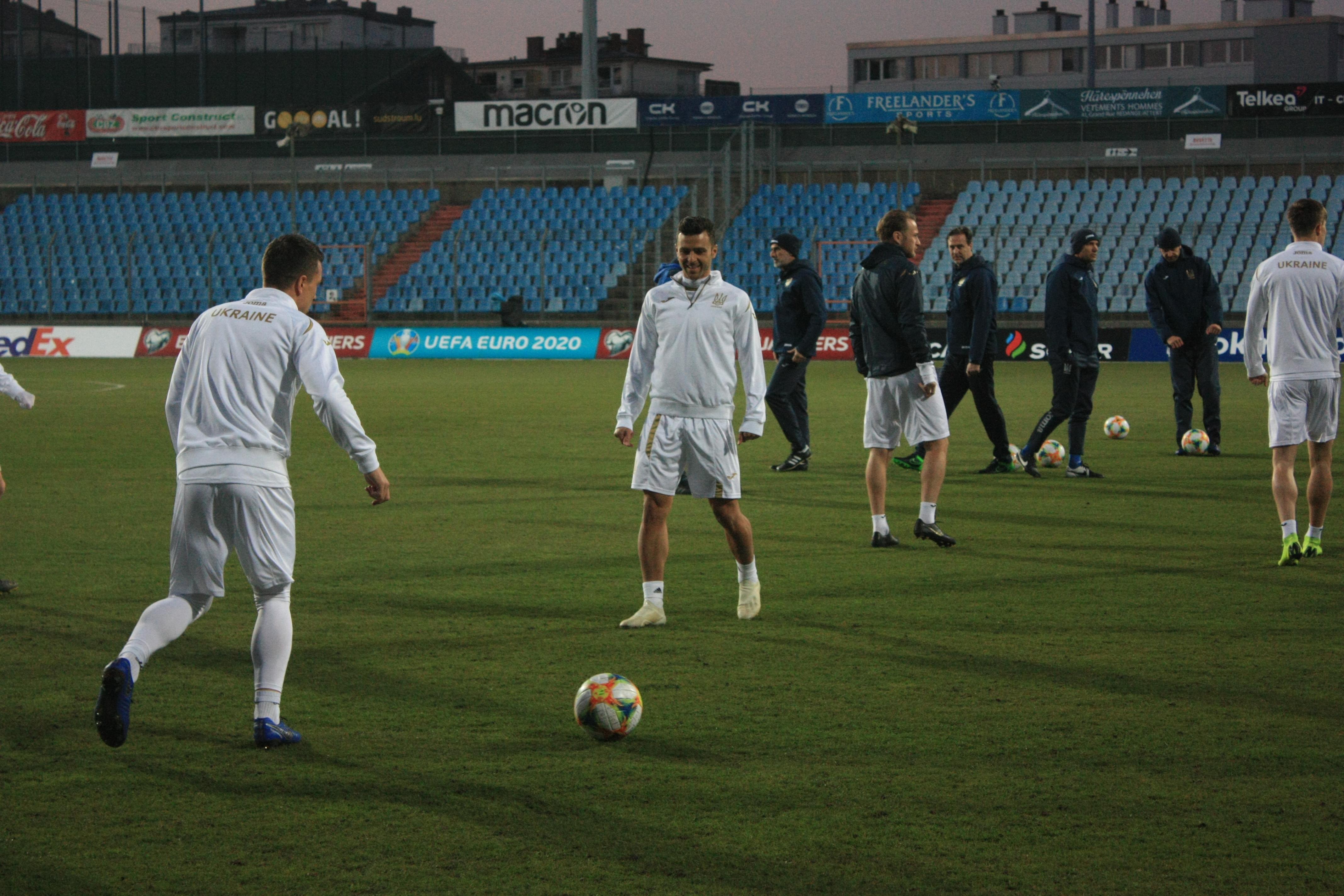 Открытая тренировка сборной Украины в Люксембурге (Фото) - изображение 16
