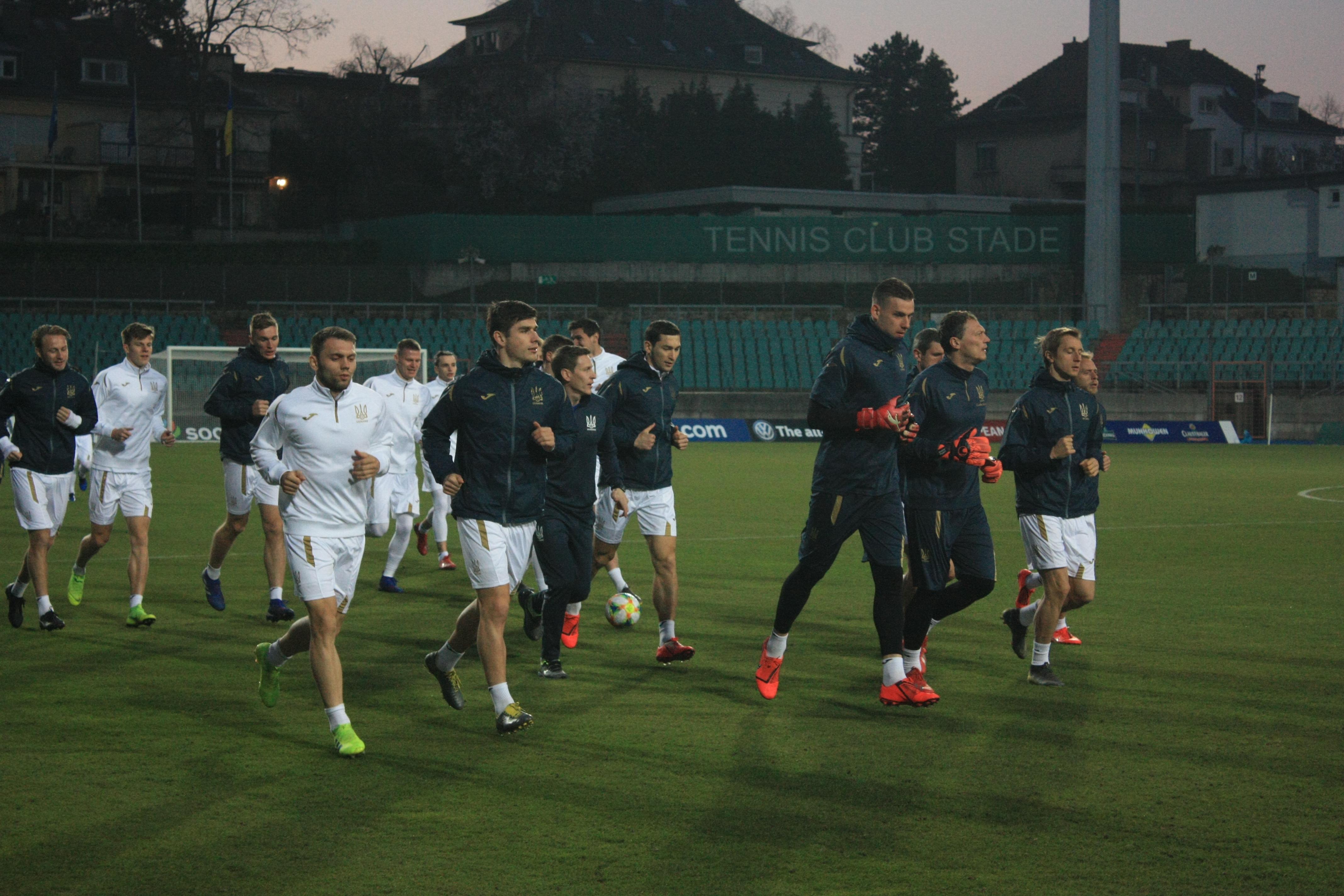 Открытая тренировка сборной Украины в Люксембурге (Фото) - изображение 17