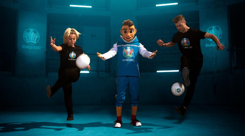 УЕФА представил талисман Евро-2020 (Фото, Видео)