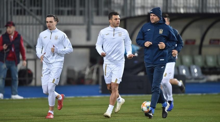 Люксембург - Украина: в ожидании матча