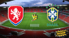 Контрольный матч. Чехия - Бразилия 1:3 (Видео)