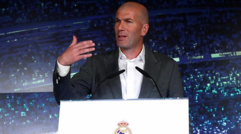 """Зинедин Зидан: """"Реалу"""" нужно просто выиграть один матч"""""""