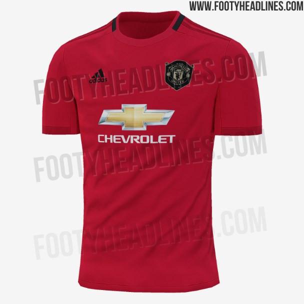 """""""Манчестер Юнайтед"""" в следующем сезоне сыграет в новой домашней форме (Фото) - изображение 1"""
