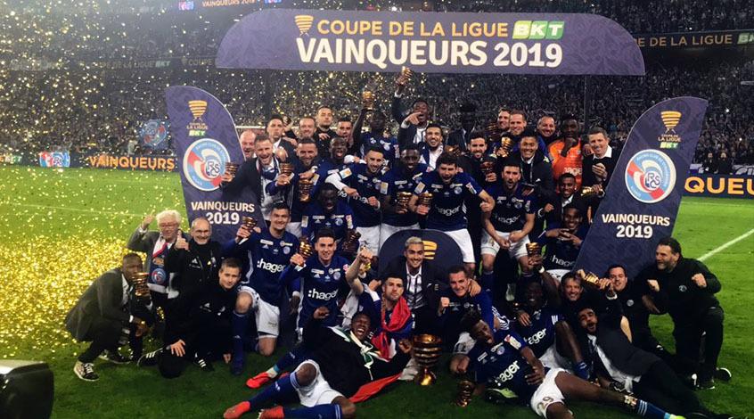 """Кубок французской Лиги. Финал. """"Страсбур"""" идет в Европу!"""