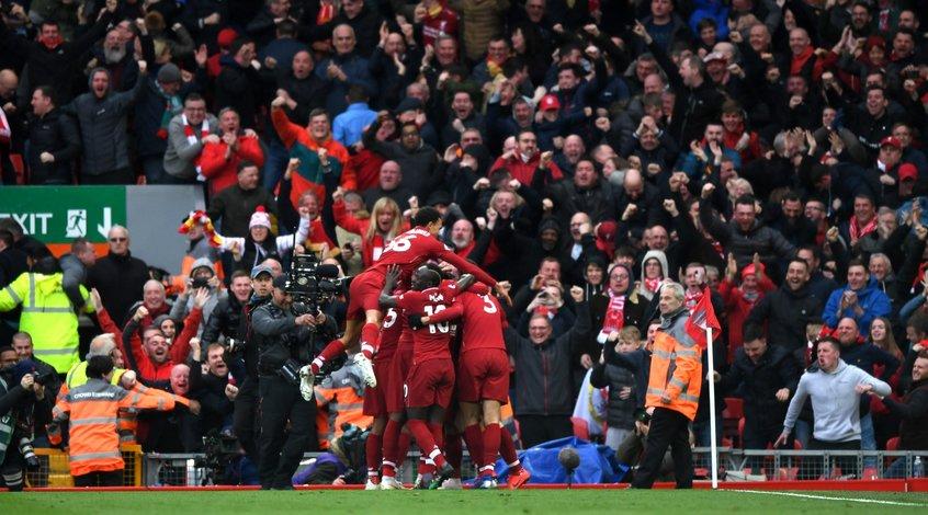 """""""Ливерпуль"""" - """"Тоттенхэм"""" 2:1. Магия """"Энфилда"""""""