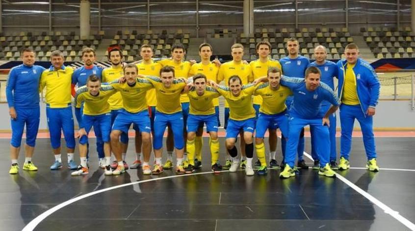 Збірна України з футзалу назвала склад на товариські матчі проти Словенії, Македонії та Косово