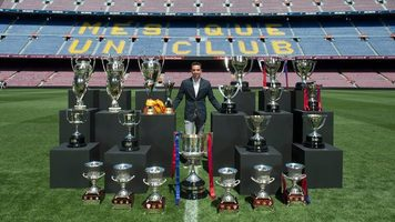 Хави выиграл свой 33-й трофей в карьере