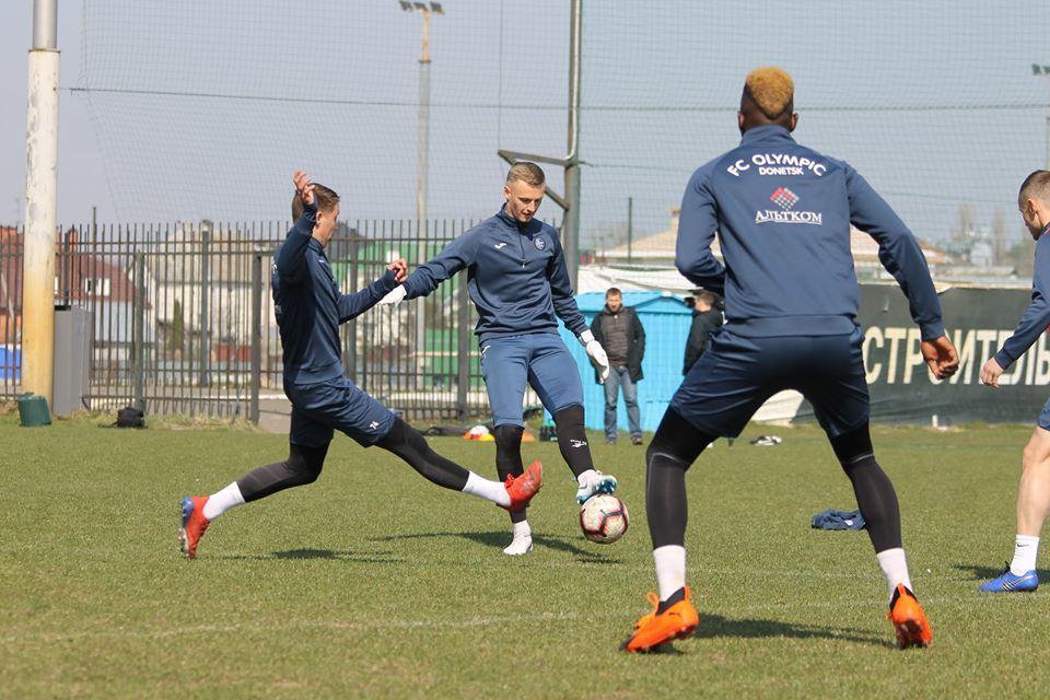 """Как """"Олимпик"""" провел заключительную тренировку перед """"Десной"""" (Фото) - изображение 2"""