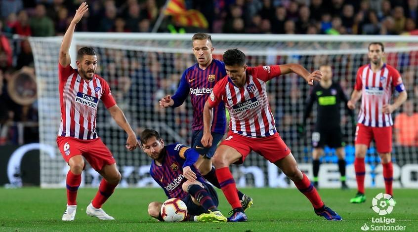 """""""Барселона"""" - """"Атлетико"""" 2:0. Чемпионская минута"""