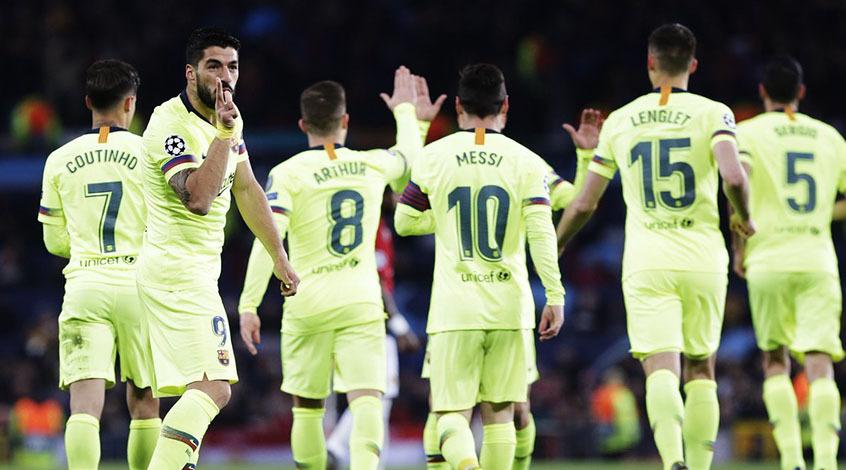 """""""Манчестер Юнайтед"""" – """"Барселона"""" 0:1. Шоу не удалось"""