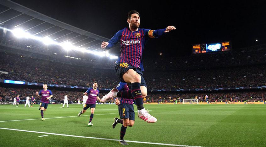 """Барселона"" – ""Манчестер Юнайтед"" 3:0. Месси снимает проклятье"