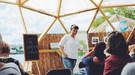 GREEN HUB - перший в Києві коворкінг на природі
