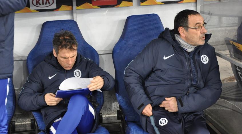 """Маурицио Сарри будет оштрафован за ненадлежащее поведение в матче с """"Бернли"""""""