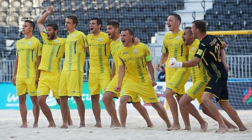 Пляжный футбол украина испания обзор