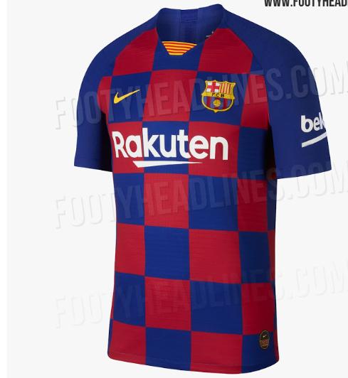 """Новая форма """"Барселоны"""" - в клеточку (Фото) - изображение 2"""