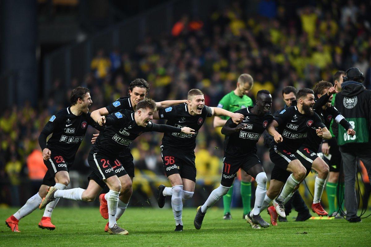 Артём Довбик выиграл Кубок Дании (Фото) - изображение 1