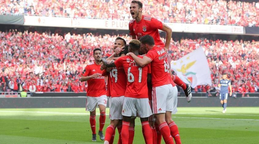 """""""Бенфика"""" в 37-й раз в своей истории стала чемпионом Португалии"""