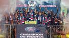 ПСЖ отпраздновал титул чемпиона Франции