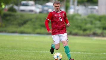 Сергей Ребров сыграл за сборную Венгрии