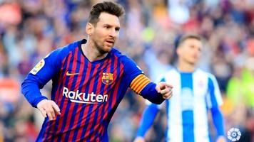 Лионель Месси - лучший бомбардир чемпионата Испании 2018-2019