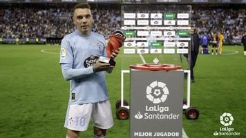 Яго Аспас - лучший испанский бомбардир Ла Лиги 2018-2019