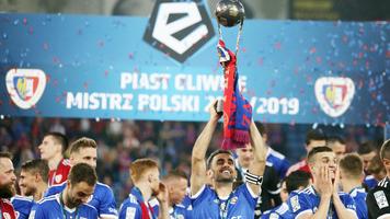 """""""Пяст"""" - чемпион Польши сезона 2018/2019"""