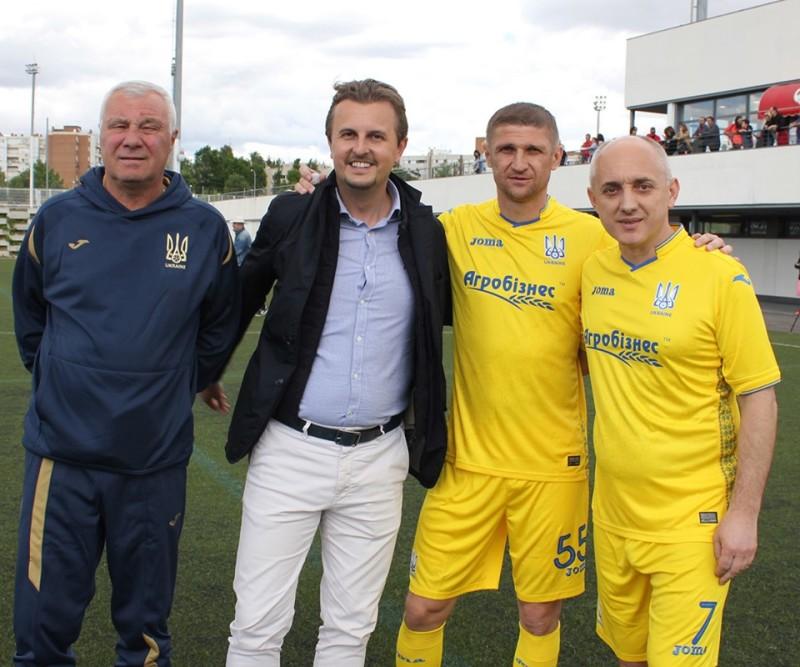 Збірна ветеранів України перемогла в Іспанії на турнірі Солідарності FEAFV - изображение 1