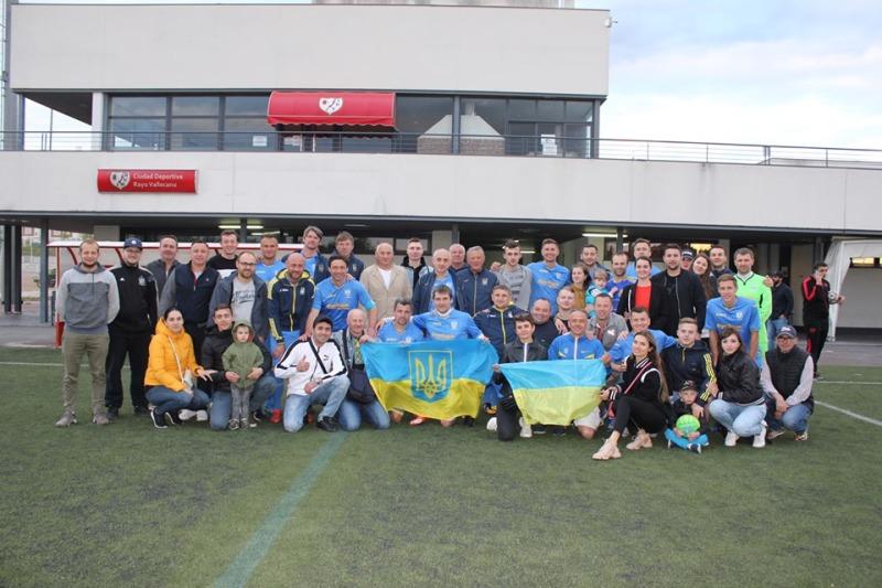 Збірна ветеранів України перемогла в Іспанії на турнірі Солідарності FEAFV - изображение 3