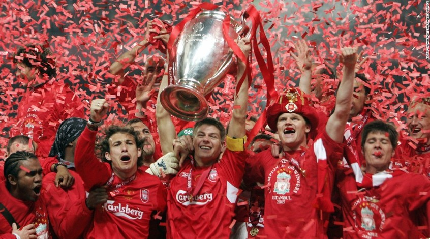 """От фартового Рима до незабываемого Стамбула. Пять финалов """"Ливерпуля"""""""